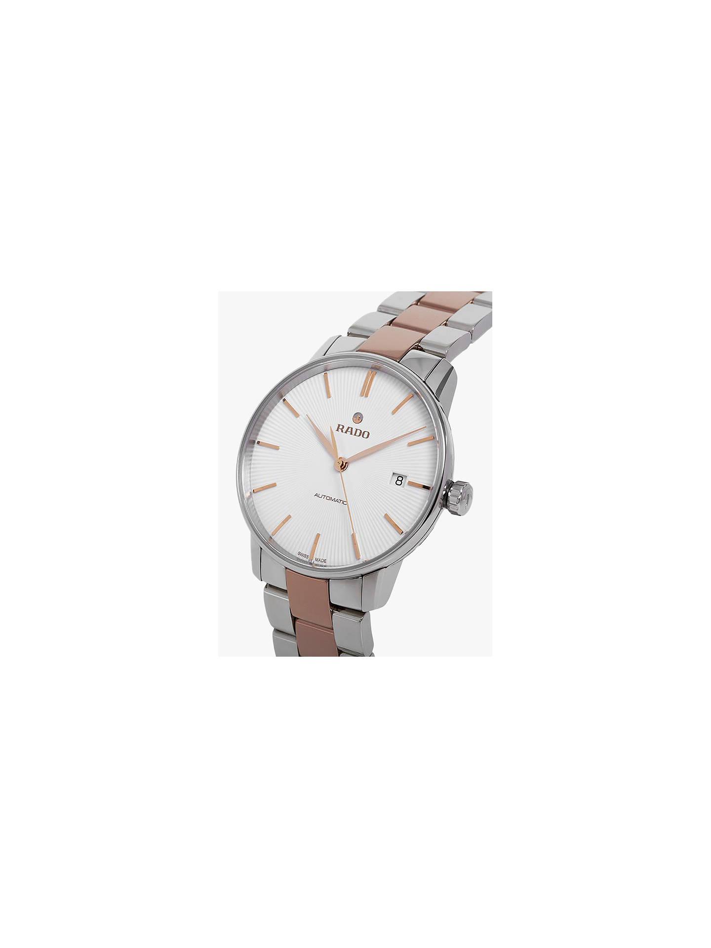 ebeddf71d2c ... Buy Rado R22860022 Unisex Coupole Classic Automatic Date Two Tone  Bracelet Strap Watch