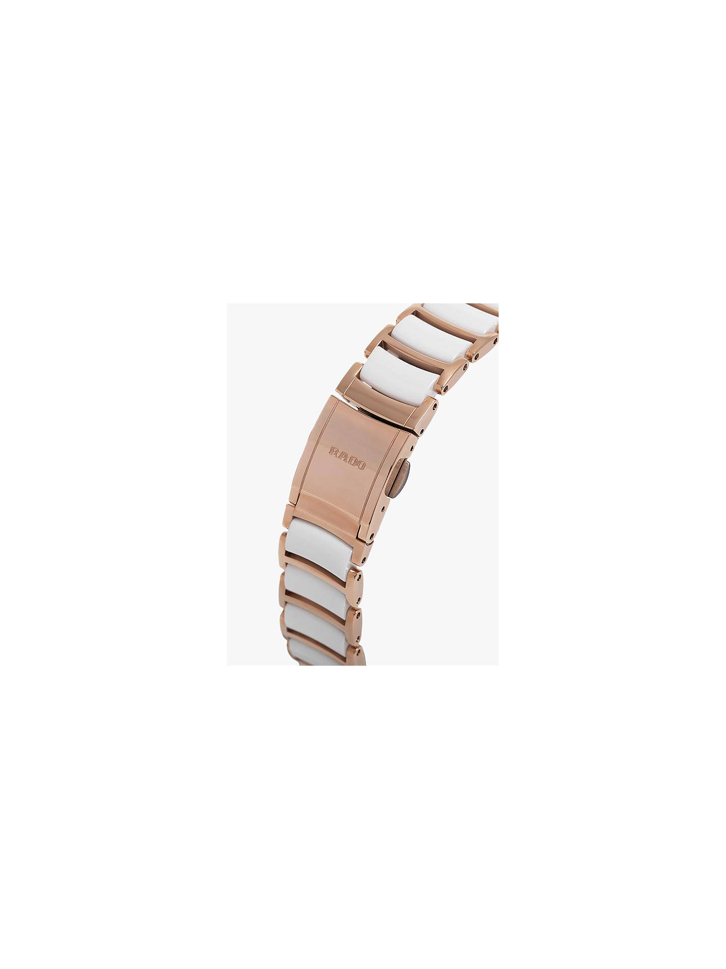 88e76ce5d ... Buy Rado R30183742 Women's Centrix Diamond Date Automatic Bi-Material  Bracelet Strap Watch, Rose