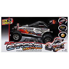 Buy New Bright Chrome Lightning 1:16 Radio Control Buggy Online at johnlewis.com