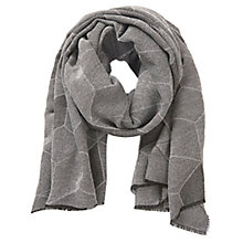 Buy Betty Barclay Long Woven Scarf, Grey / Silver Online at johnlewis.com