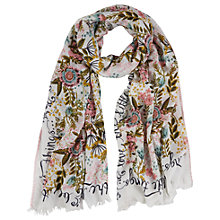 Buy White Stuff Love The Little Things Scarf, Multi Online at johnlewis.com