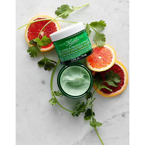 Buy Kiehl's Cilantro & Orange Extract Pollutant Defending Masque, 100ml Online at johnlewis.com