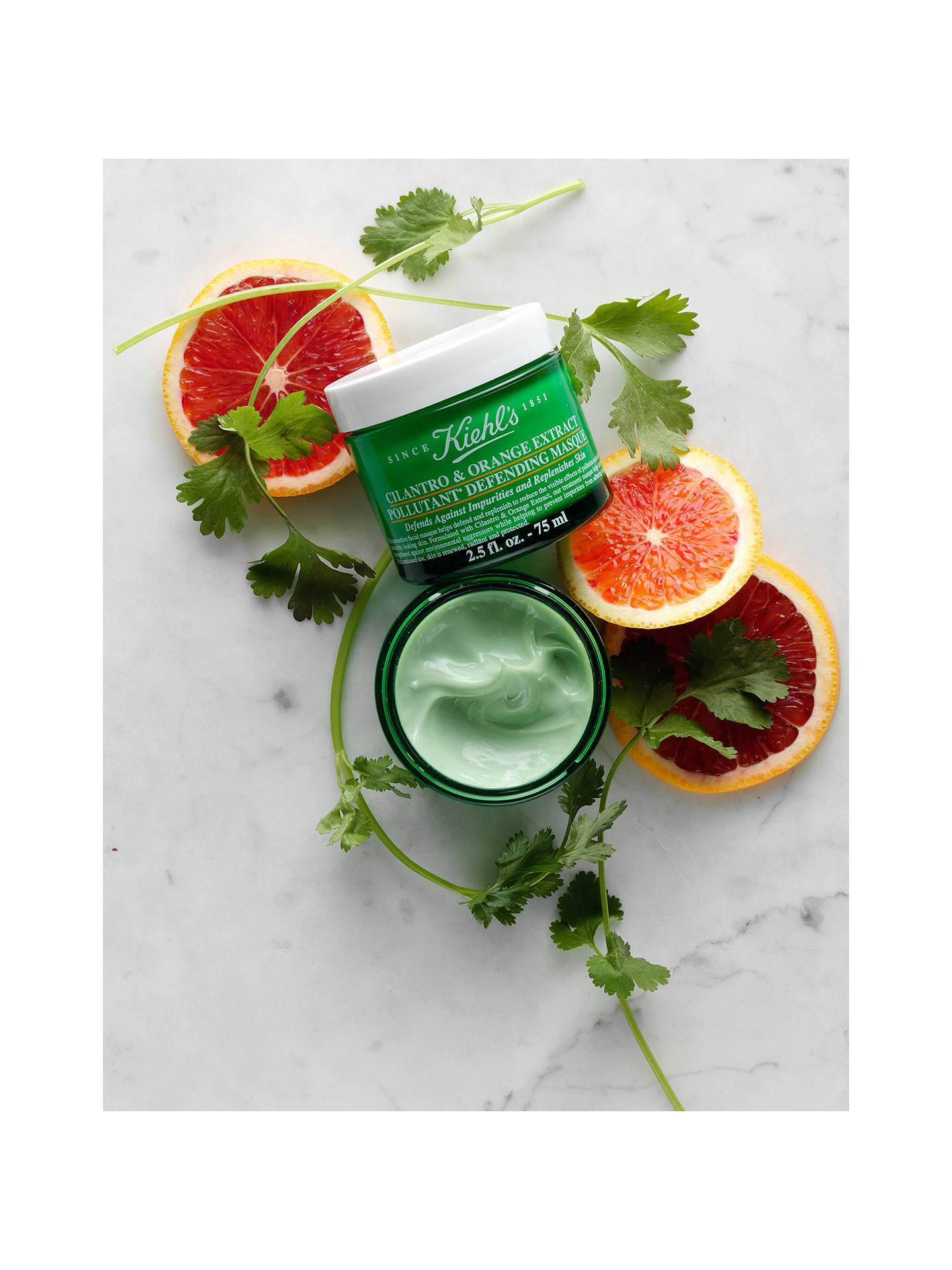 BuyKiehl's Cilantro & Orange Extract Pollutant Defending Masque, 100ml Online at johnlewis.com