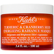 Buy Kiehl's Turmeric & Cranberry Seed Energising Radiance Masque, 100ml Online at johnlewis.com