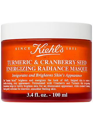 Kiehl's Turmeric & Cranberry Seed Energising Radiance Masque, 100ml