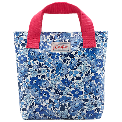 Cath Kidston Children's Welham Flower Mini Tote Bag, Blue