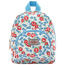 Buy Cath Kidston Children's Porchester Ditsy Mini Rucksack, White Online at johnlewis.com