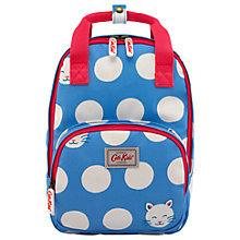 Buy Cath Kids Children's Cute Cat Medium Backpack, Cornflower Blue Online at johnlewis.com