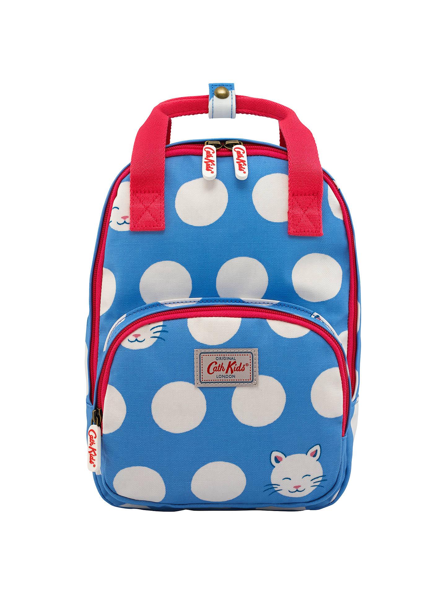 Cath Kids Children S Cute Cat Medium Backpack Cornflower Blue At