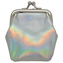 Buy Cath Kids Children's Mini Clasp Purse, Silver Online at johnlewis.com