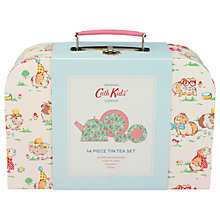 Buy Cath Kids Tin Pet Party Toy Tea Set Online at johnlewis.com