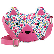 Buy Cath Kids Children's Littlemore Flower Cat Handbag, Pink Online at johnlewis.com
