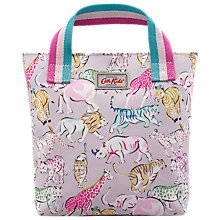 Buy Cath Kidston Children's Safari Animals Mini Tote Bag, Pastel Online at johnlewis.com