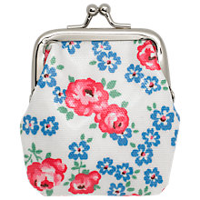 Buy Cath Kidston Children's Porchester Ditsy Mini Clasp Purse, White Online at johnlewis.com