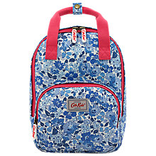 Buy Cath Kidston Children's Welham Flowers Medium Rucksack, Cream/Blue Online at johnlewis.com