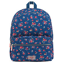 Buy Cath Kids Children's Kew Sprig Print Junior Rucksack, Blue Online at johnlewis.com