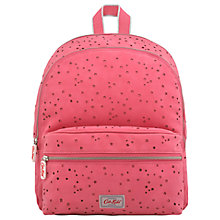 Buy Cath Kids Children's Mono Stars Junior Rucksack, Hot Pink Online at johnlewis.com