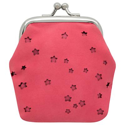 Cath Kidston Children's Stars Mini Clasp Purse, Pink