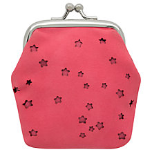 Buy Cath Kidston Children's Stars Mini Clasp Purse, Pink Online at johnlewis.com