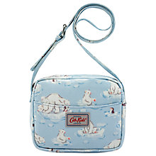 Buy Cath Kids Children's Polar Bear Across Body Handbag, Blue Online at johnlewis.com