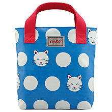 Buy Cath Kids Children's Cute Cat Mini Tote Bag, Cornflower Blue Online at johnlewis.com