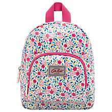 Buy Cath Kids Children's Littlemore Flowers Rucksack, White/Pink Online at johnlewis.com