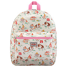 Buy Cath Kids Children's Pets Party Padded Rucksack, Cream Online at johnlewis.com