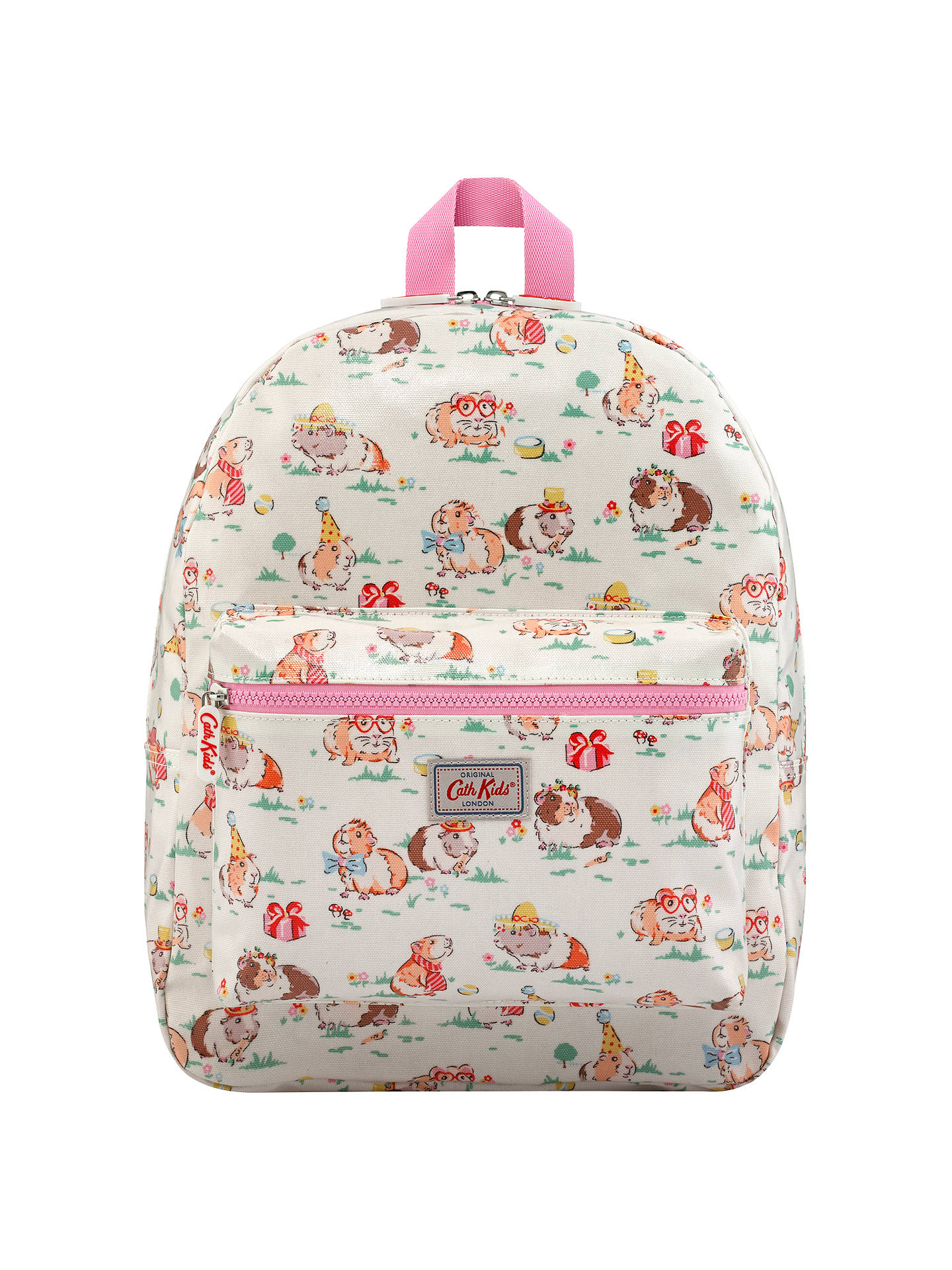 Cath Kids Children S Pets Party Padded Rucksack Cream At John Lewis