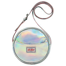 Buy Cath Kids Children's Round Cross Body Handbag, Silver Online at johnlewis.com