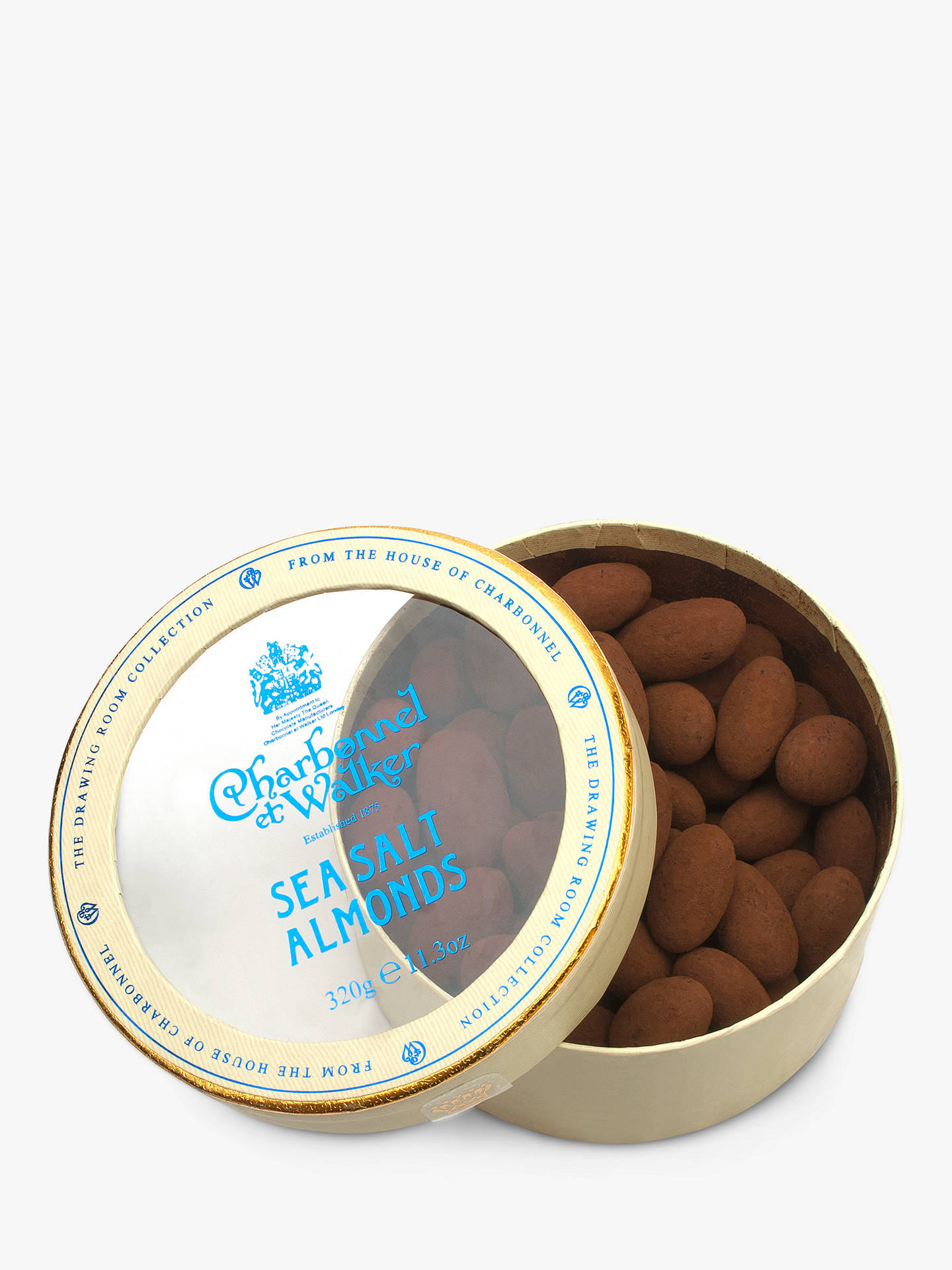 BuyCharbonnel et Walker Milk & Sea Salt Almonds, 320g Online at johnlewis.com