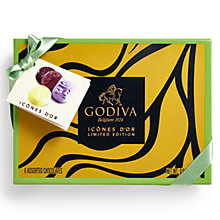 Buy Godiva Gold Icons Assorted Chocolates, Box of 6, 75g Online at johnlewis.com