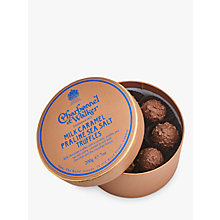 Buy Charbonnel et Walker Milk Caramel Praline Seasalt Truffles, 200g Online at johnlewis.com