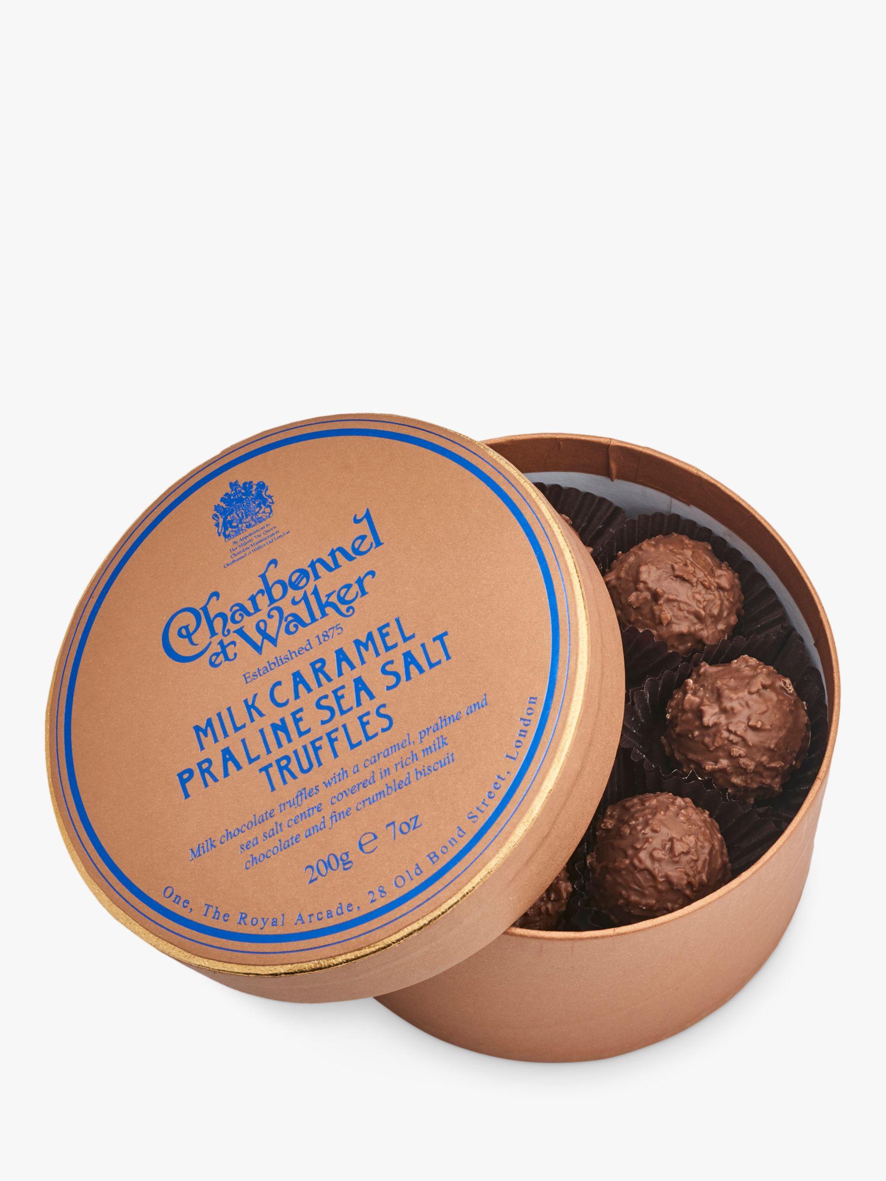 Charbonnel et Walker Charbonnel et Walker Milk Caramel Praline Seasalt Truffles, 200g