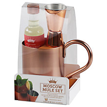 Buy Modern Cocktails Moscow Mule Set, 7cl Online at johnlewis.com