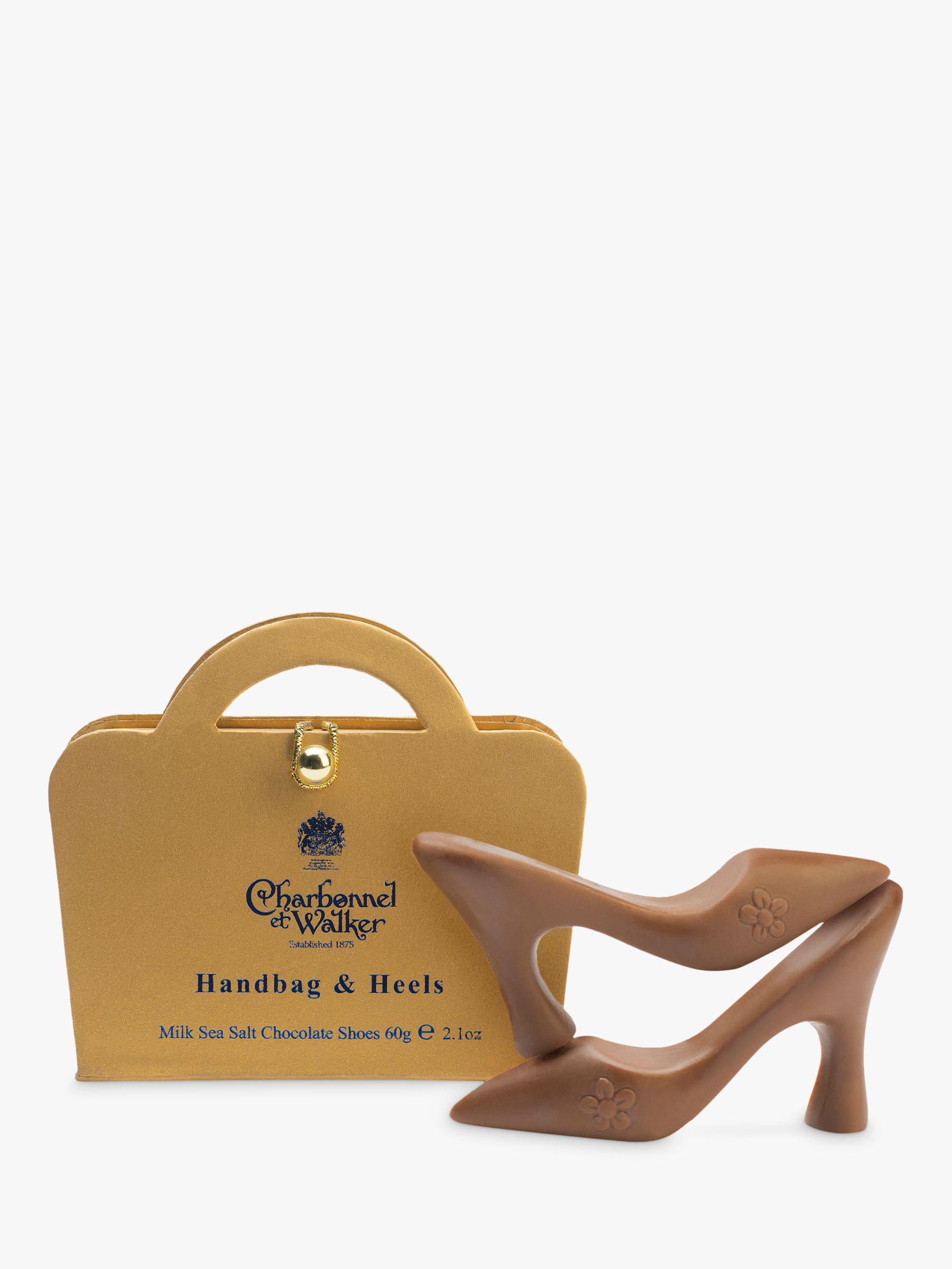 Charbonnel et Walker Charbonnel et Walker Milk Sea Salt Chocolate Shoes, 60g