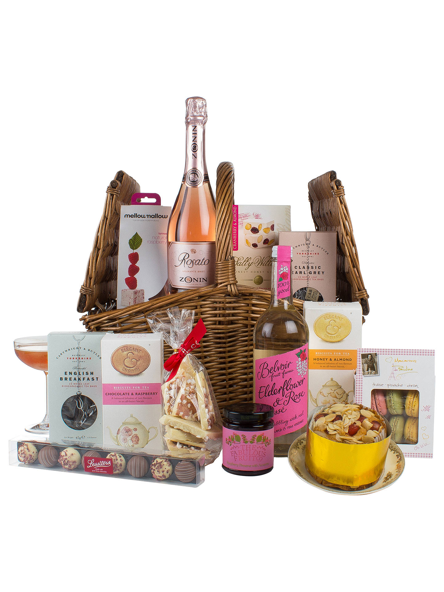 John Lewis Elegant Afternoon Tea Hamper At John Lewis Partners