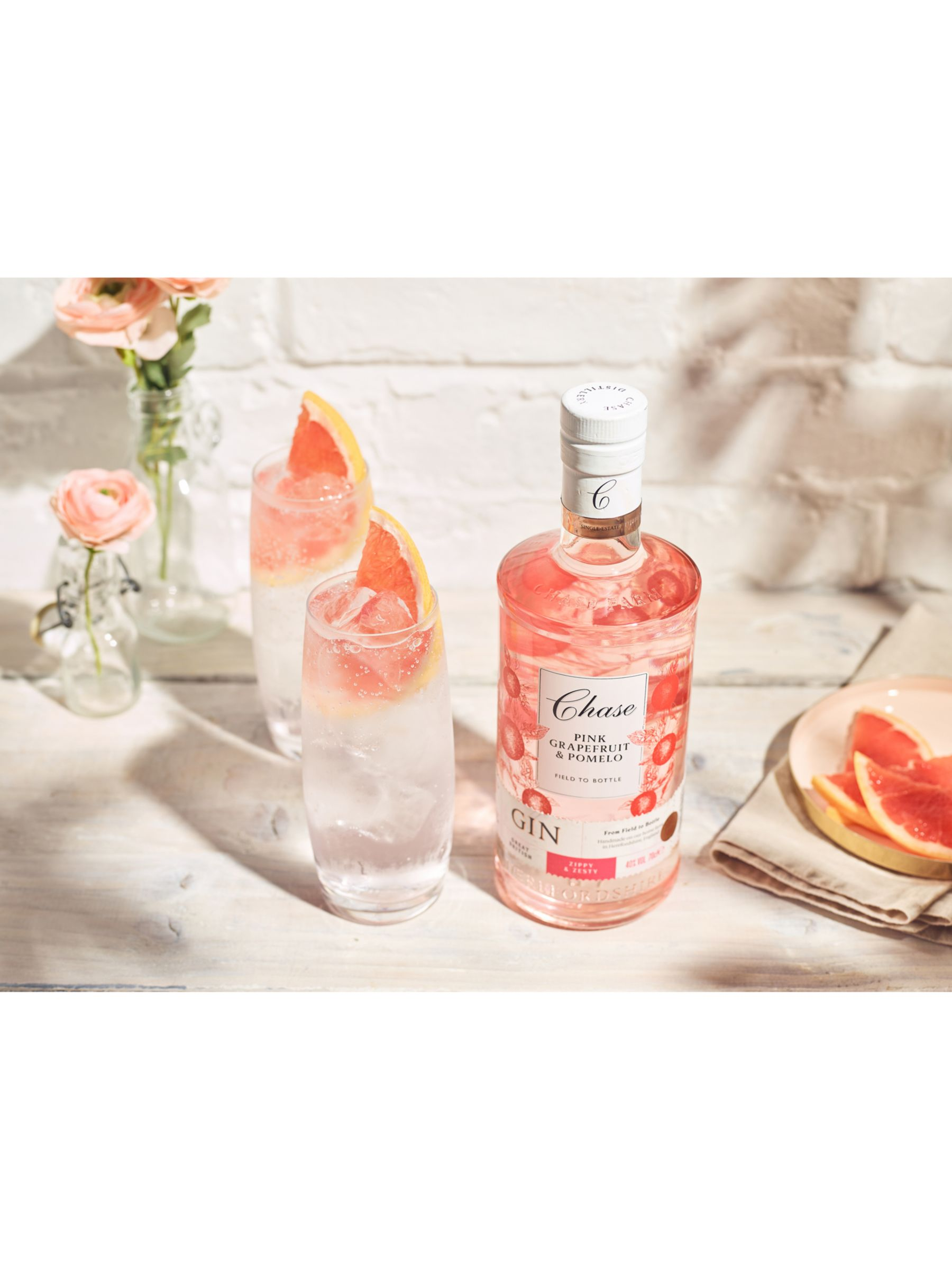 Chase Chase Williams Pink Grapefruit Gin, 70cl