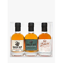Buy Sheep Dip and the Feathery Blended Malt Scotch Whisky Gift Set, Set of 3, 20cl Online at johnlewis.com