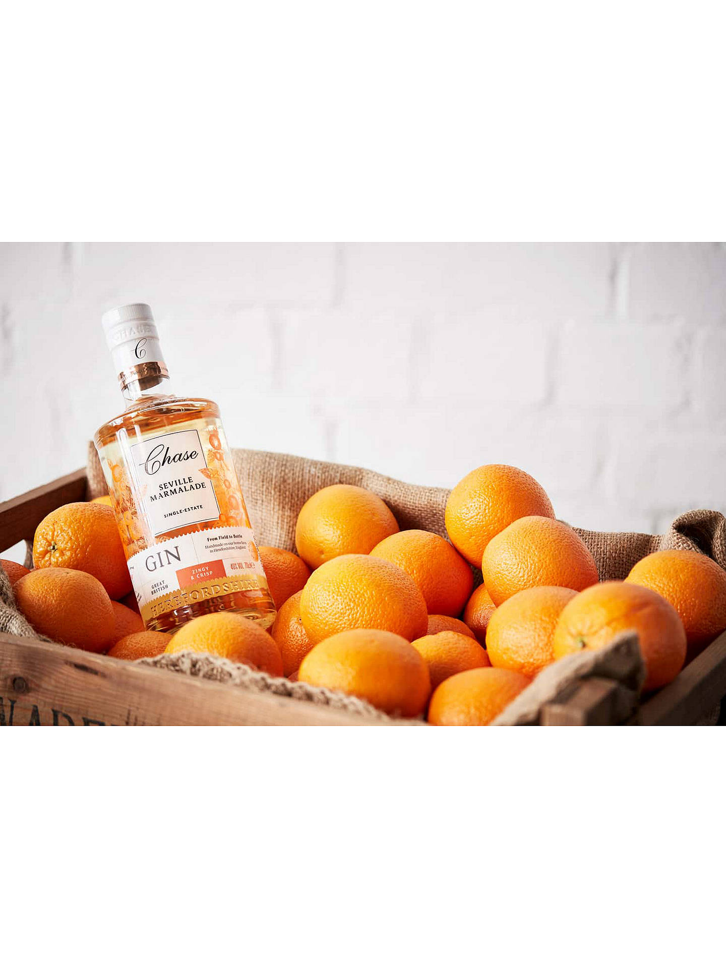 Buy Chase Williams Seville Orange Gin, 70cl Online at johnlewis.com