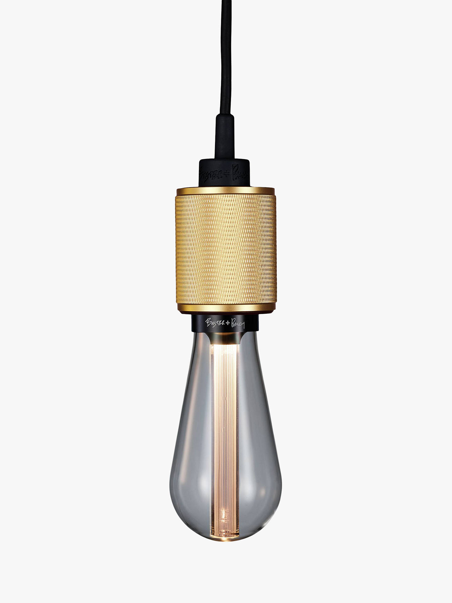 BuyBuster + Punch Heavy Metal Ceiling Pendant, Brass Online at johnlewis.com