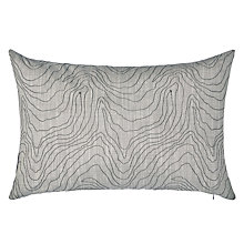 Buy Harlequin Formation Cushion, Silver Online at johnlewis.com