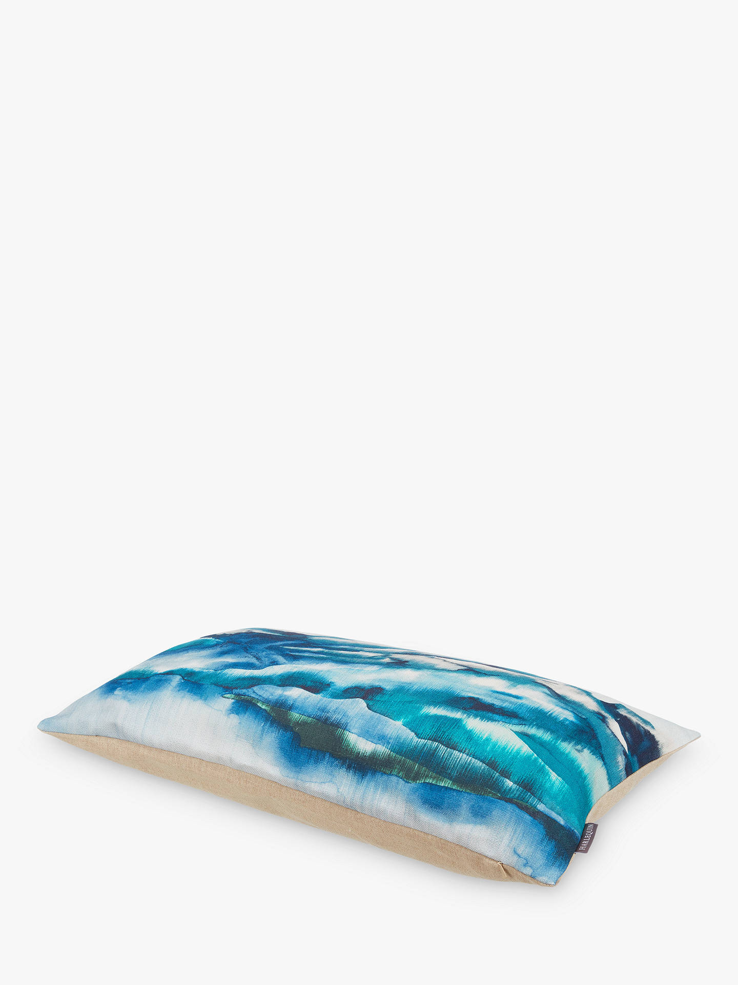 BuyHarlequin Kailani Mount Cushion, Teal Online at johnlewis.com