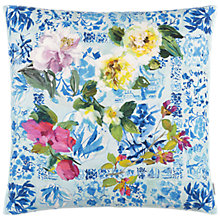 Buy Designers Guild Majolica Cushion, Cornflower Online at johnlewis.com