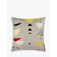 Buy Lucienne Day Calyx Cushion, Grey Online at johnlewis.com