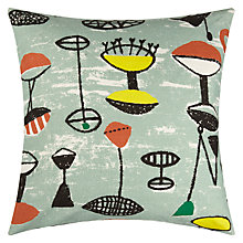 Buy Lucienne Day Flotilla Cushion, Sage Online at johnlewis.com