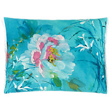 Buy Designers Guild Aveli Cushion, Turquoise Online at johnlewis.com