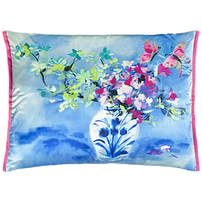 Designers Guild Laterza Cushion, Fuchsia