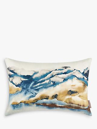 Harlequin Kailani Mount Cushion, Mustard