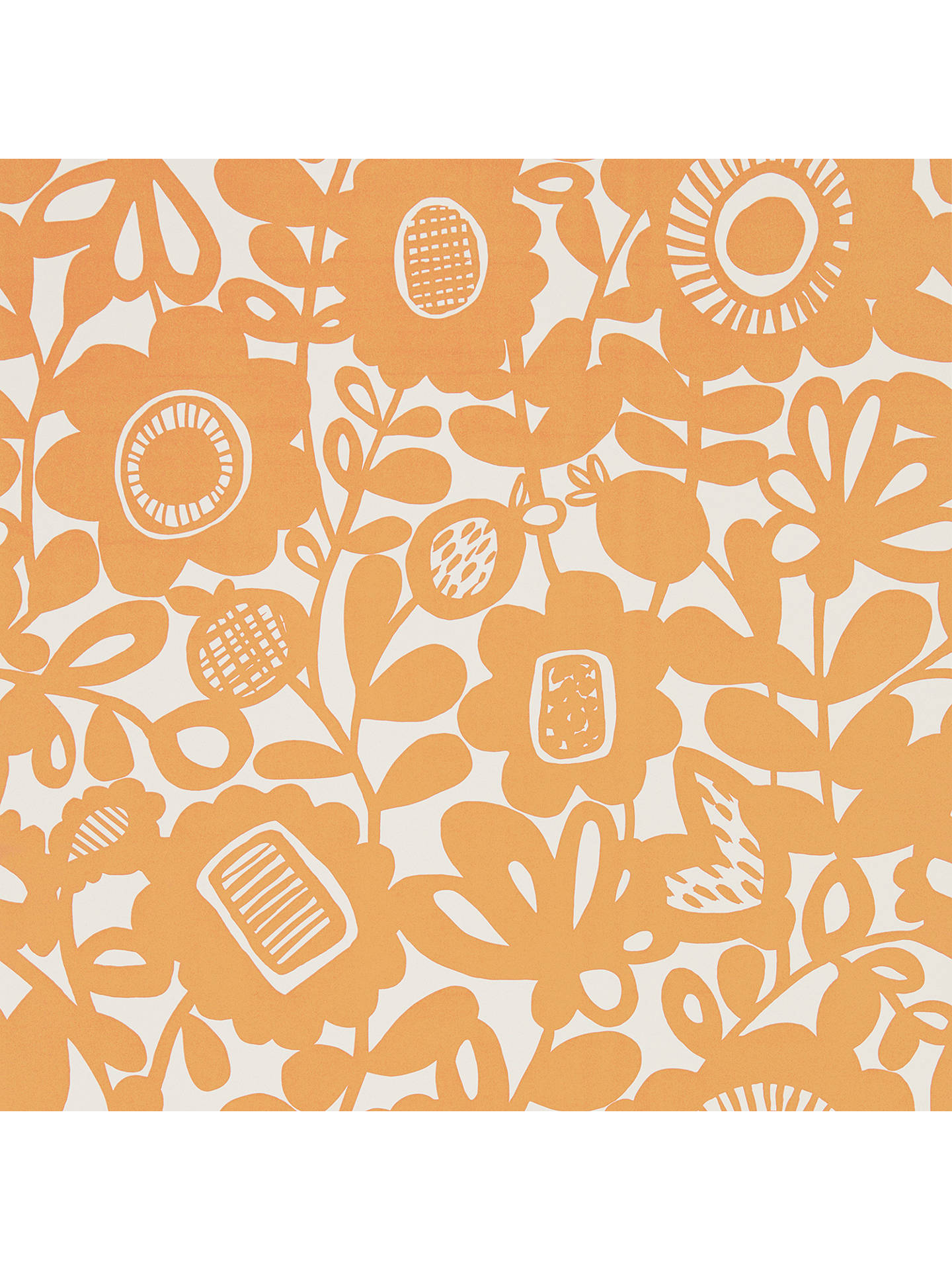 Buy Scion Kukkia Wallpaper, Satsuma 111515 Online at johnlewis.com