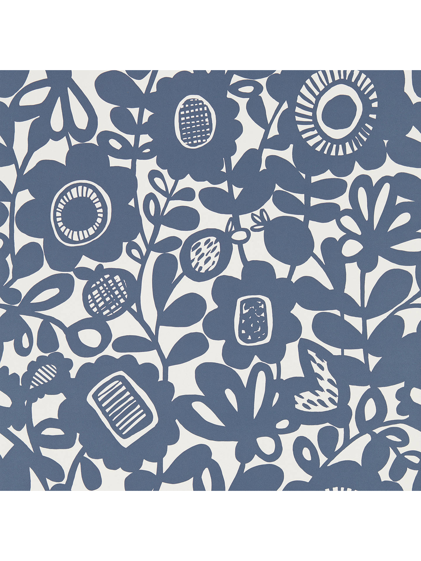 BuyScion Kukkia Wallpaper, Ink 111510 Online at johnlewis.com
